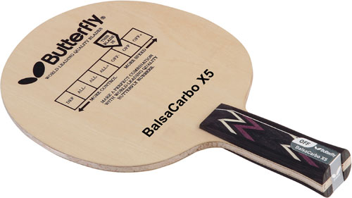 Butterfly Balsa Carbo X5 Pro
