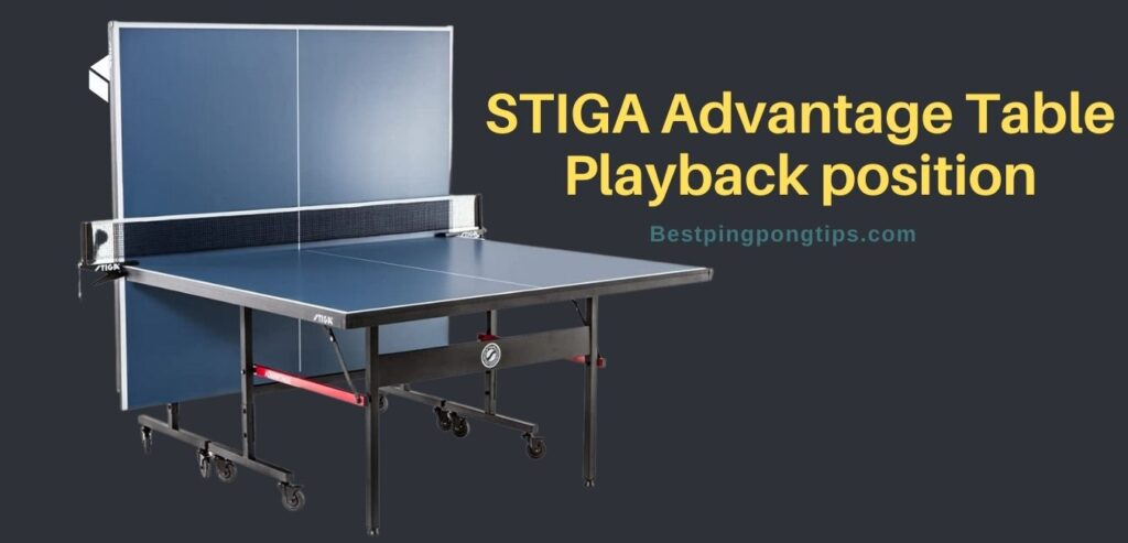 STIGA Advantage Table Playback position