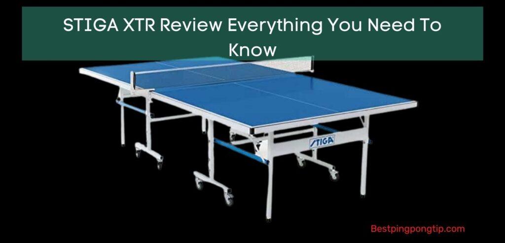 STIGA XTR Review